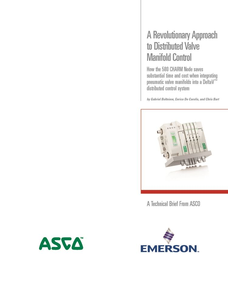 A Revolutionary Approach to Distributed Valve Manifold Control