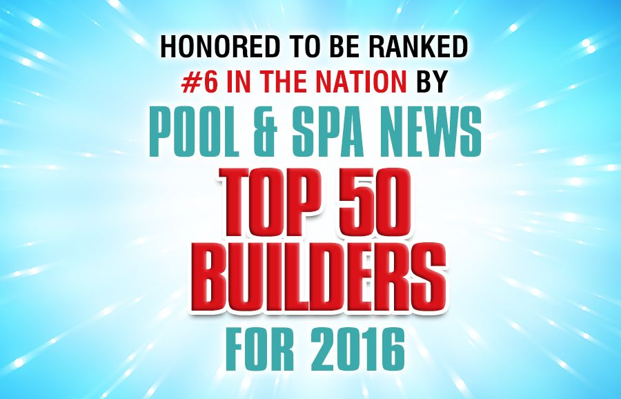 All seasons pools named one of the top pool builders in for Top pool builders