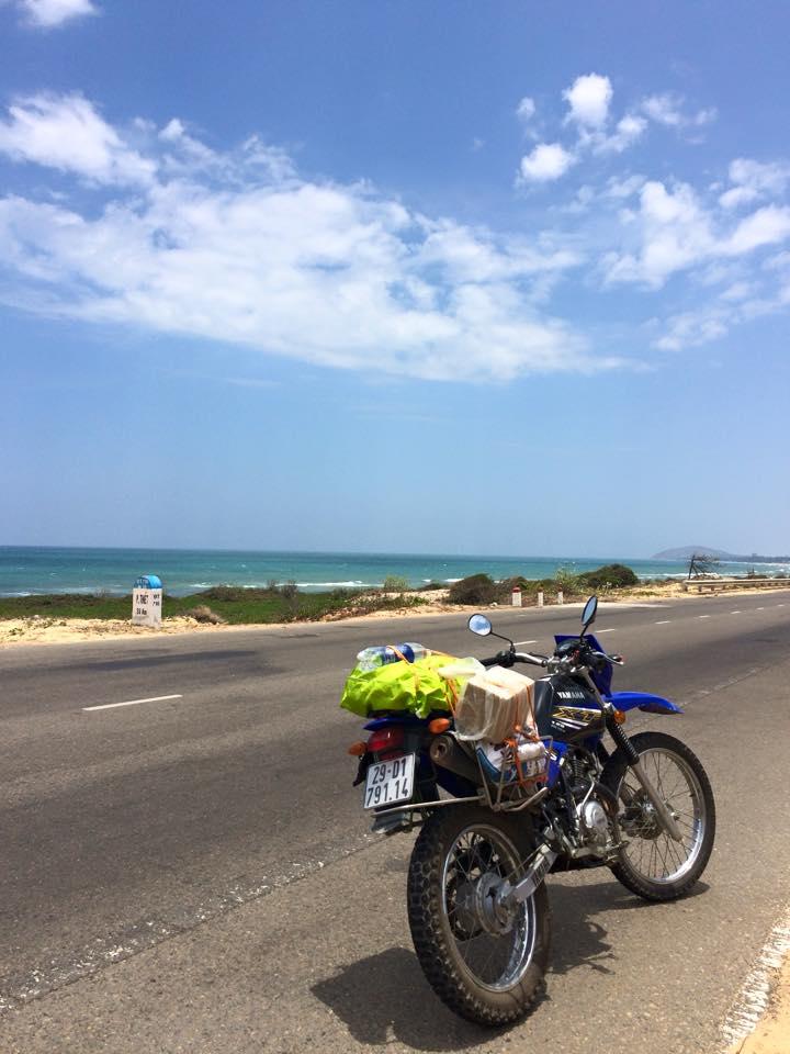 Motorcycling in Ho Chi Minh trail through Mui Ne