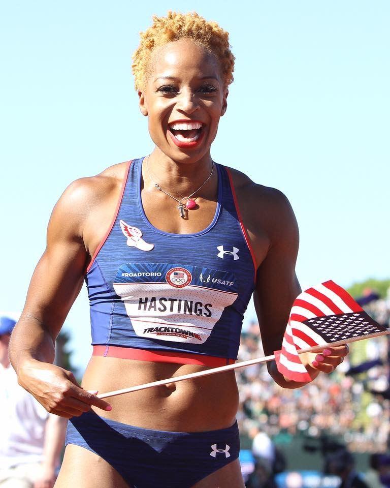 Natasha Hastings Rio 2016