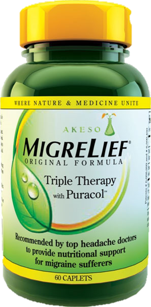 Akeso MigreLief Original Formula with Puracol™