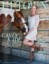 Carly Kade Uptown Magazine Cover & Feature