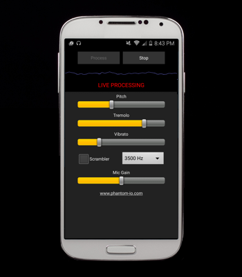 Real-Time Voice Changer App Integrates Pitch Shifter