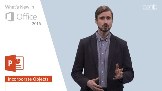 Microsoft Office 2016 training video preview