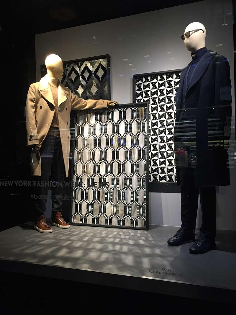 Mosaic Tile Bloomingdales NYC