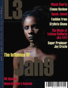 L3 Magazine - 2016 - July ft. Jah9-3 Extra Small