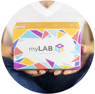 myLAB Box at-home STD test