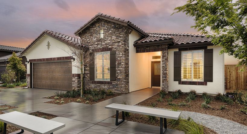 The Ponderosa plan is part of Lennar's California Series at Mountain Gate.