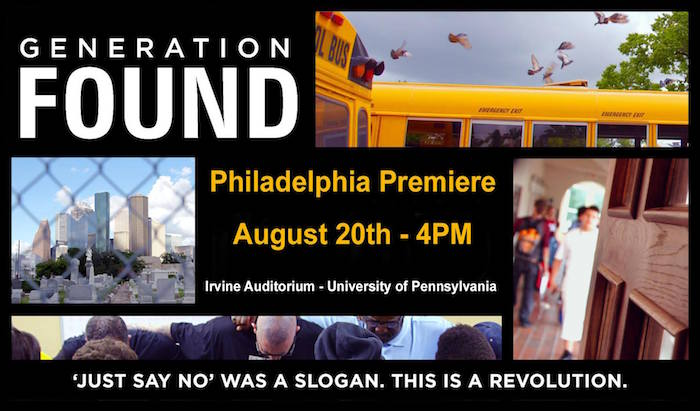 Philadelphia Premiere - Generation Found