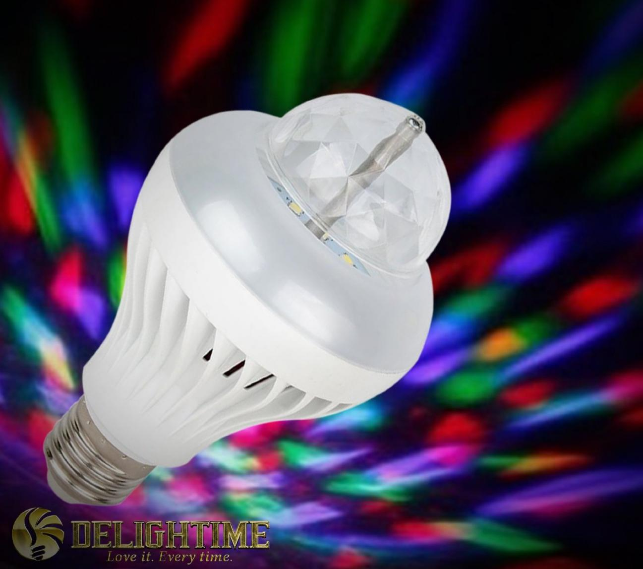 """""""Buy 3 Get 1 for Free"""" on the Delightime 2-in-1 LED Disco Party Light"""