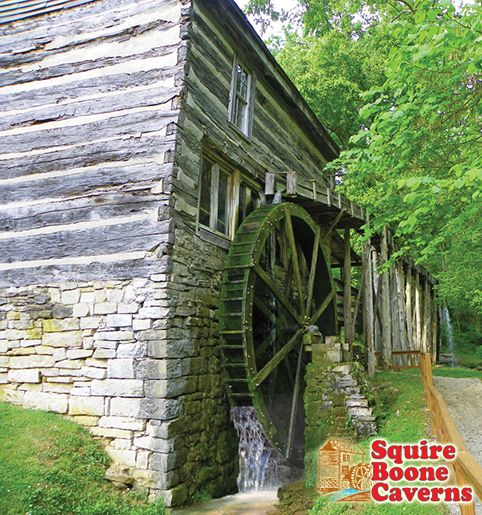 Historic Boone's Mill at Squire Boone Caverns