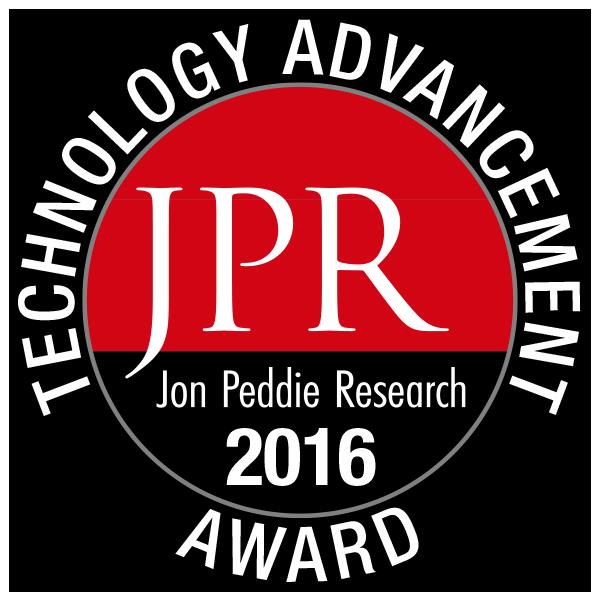 Jon Peddie 2016 Technology Advancement Award