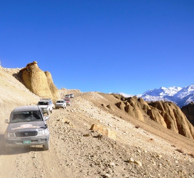 Pokhara to Lo Manthang - Upper Mustang Jeep Tour
