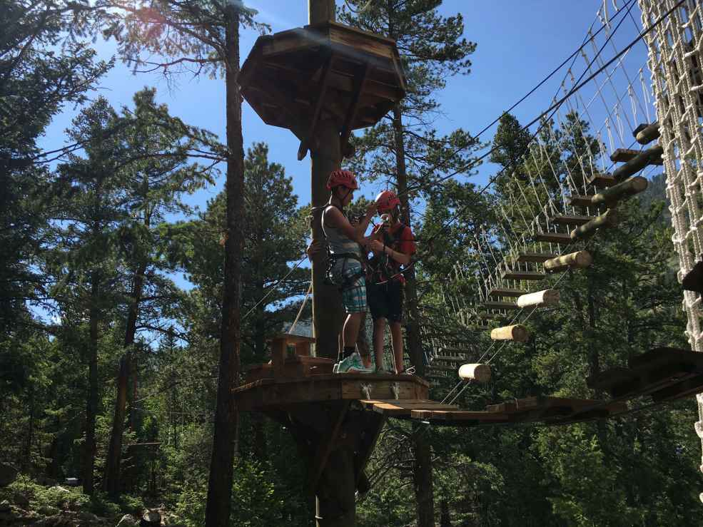 Lawson adventure park opens in the heart of the rockies for Lawson adventure cabins