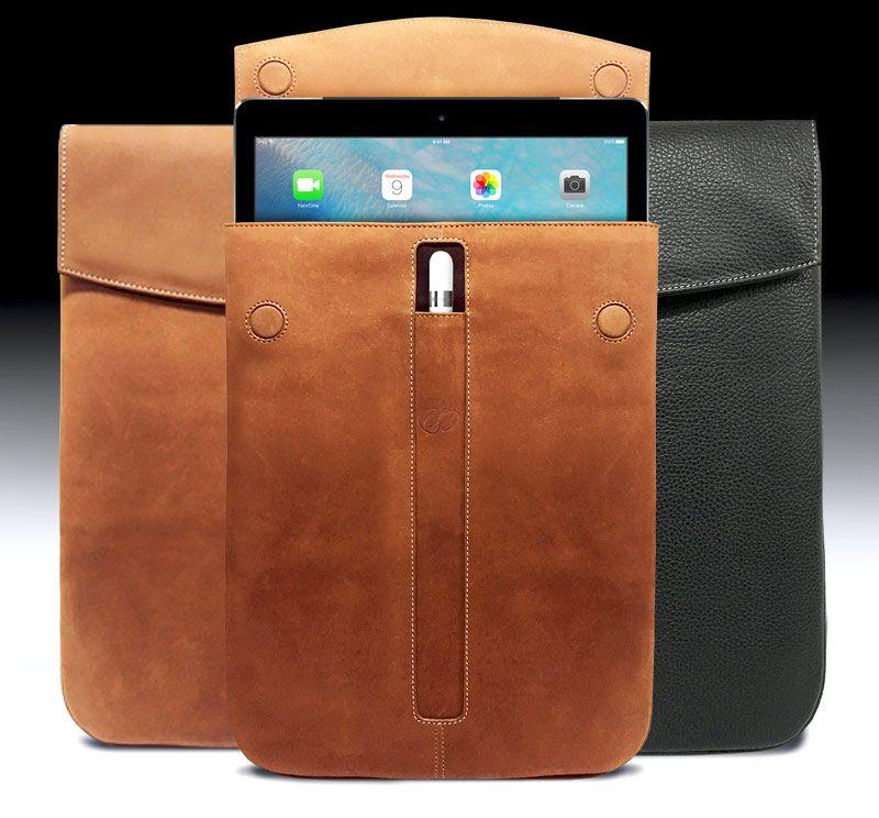 The MacCase Premium Leather iPad Pro Sleeve