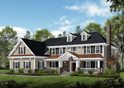 Millennium Custom Homes on Hillview Terrace, Summit, NJ
