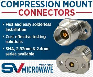 SV Microwave mmWave Compression Mount connectors