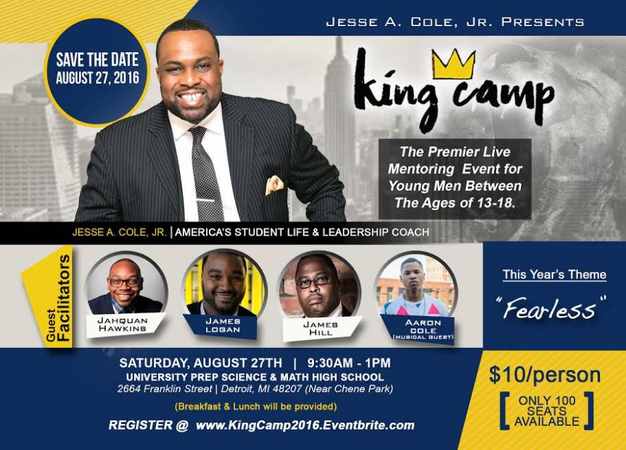 jesse cole 2016 king camp