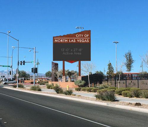 North Las Vegas Parquee Render