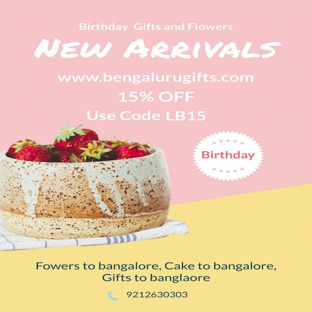 Unlimited Range Of Gifts, Flowers & Cake In Bangalore For