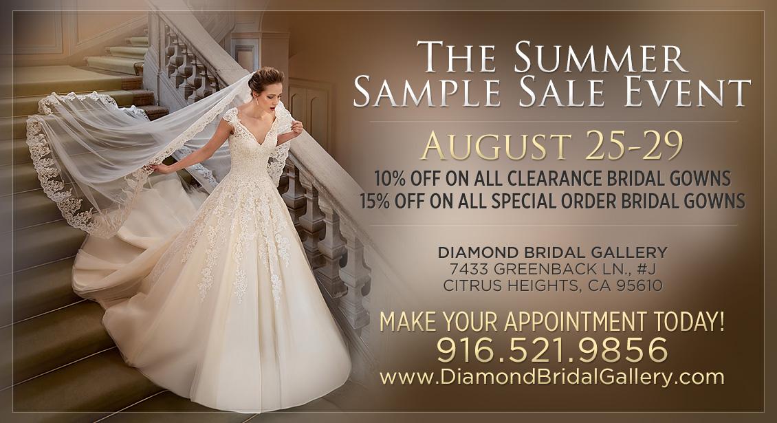 Wedding Dress Summer Sale