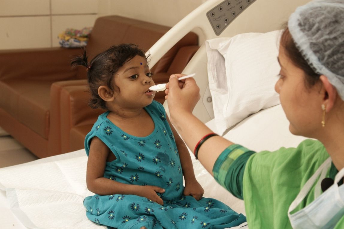 Liver transplant gives 22 month old baby a new life at care hospitals
