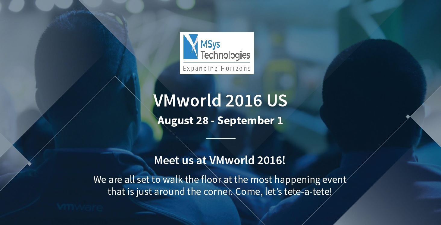 Msys Technologies all set to brew the VMcoffee at the VMworld