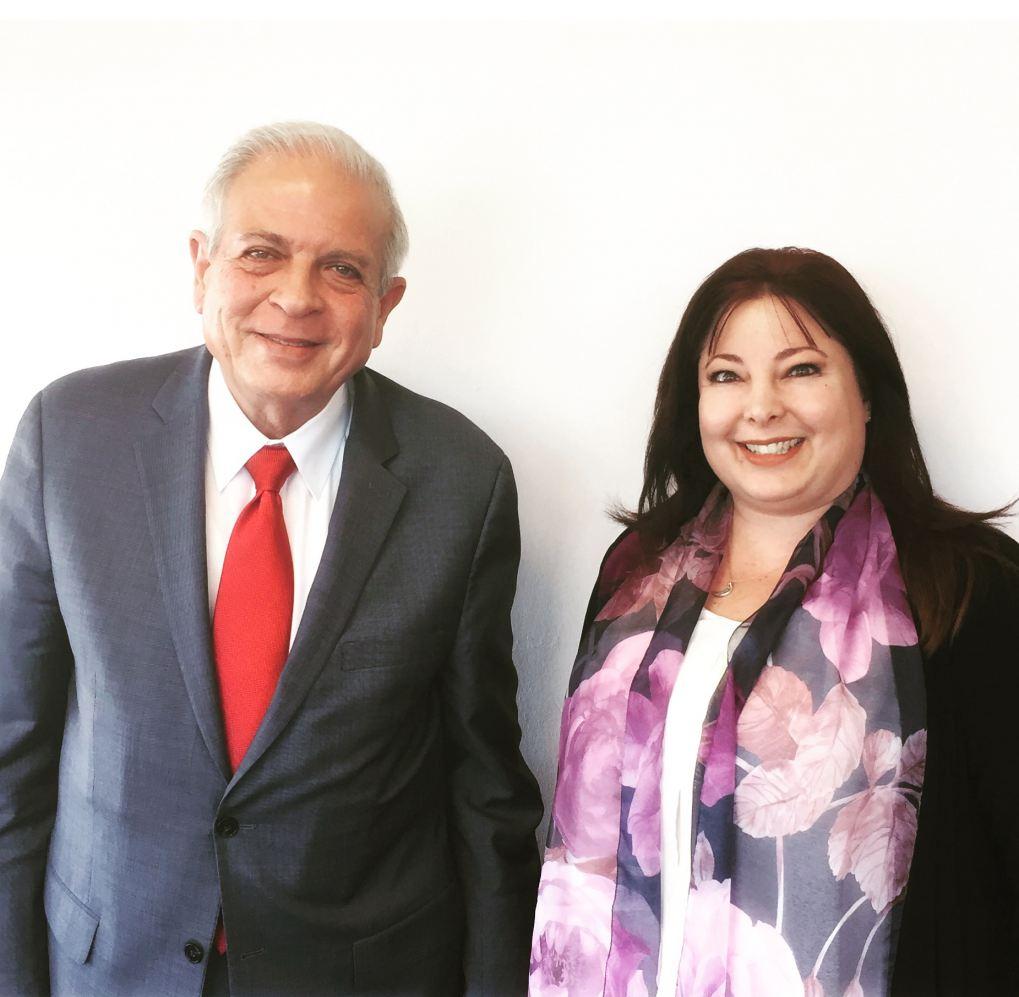 City of Miami Mayor Tomas Regalado with Rosy Palomino