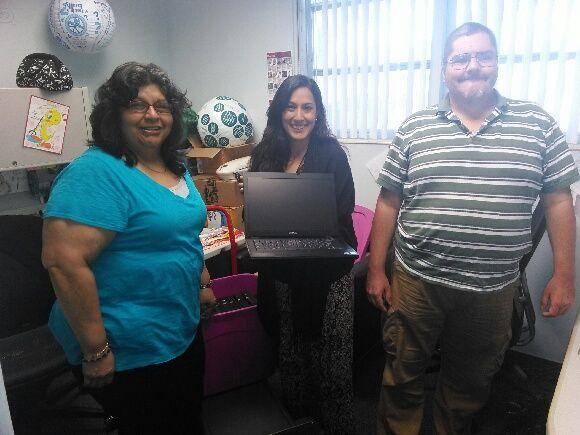 All Stars Staff Members - Gabriela & Rita, On It Staff - Retired Veteran David
