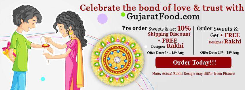 Raksha Bandhan Special Offer - Gujaratfood.com