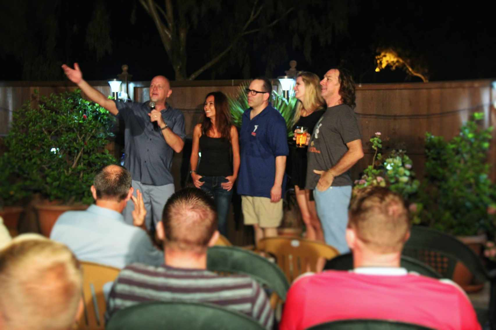 Don Barnhart's Battle Comics Stand Up & Improv Tour Entertaining The Troops