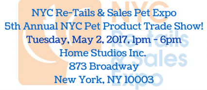 5th Annual NYC Re-tails & Sales Pet Expo