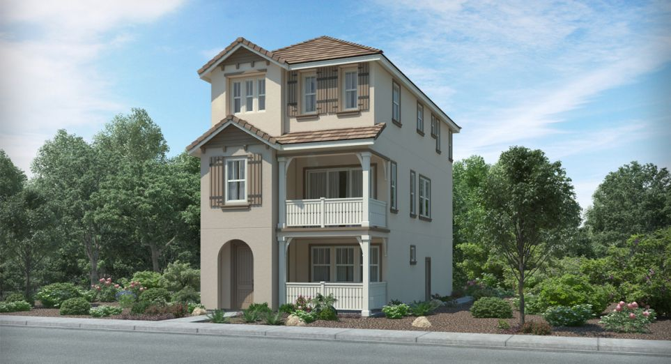 Waterstone will bring a collection of three-story homes to Milpitas.