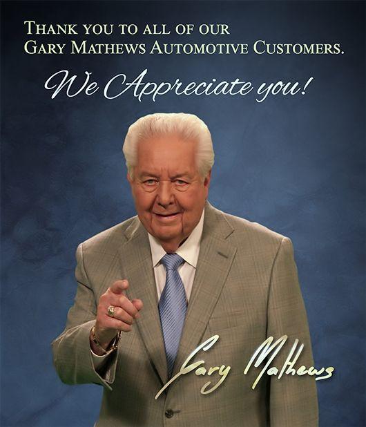 Gary Mathews Car Dealership