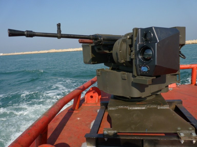 BPOD deployed with Remote Weapon Station