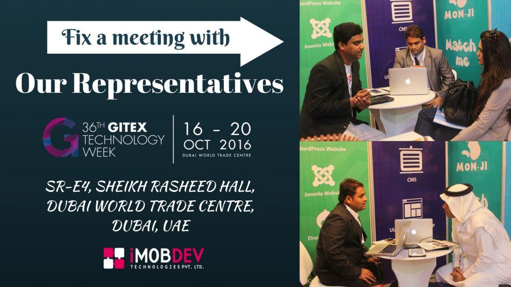 Fix a meeting With our Representative at Gitex Tec