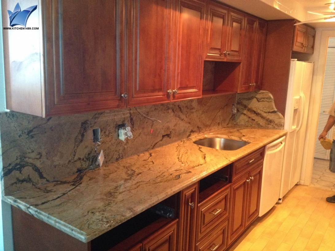 West Palm Beach with Breccia Oniciata Marble Countertops also Antique ...