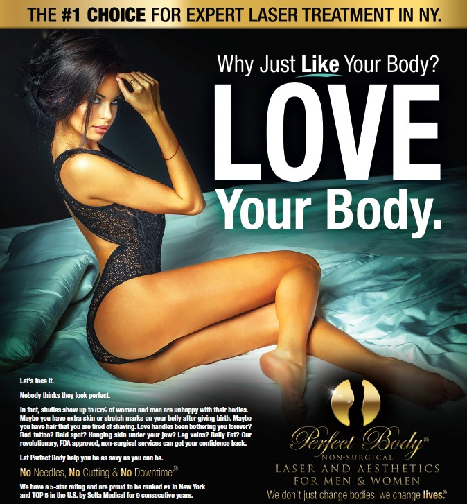 Why Just Like Your Body? LOVE Your Body!