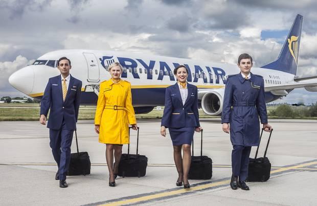 Ryanair uniform