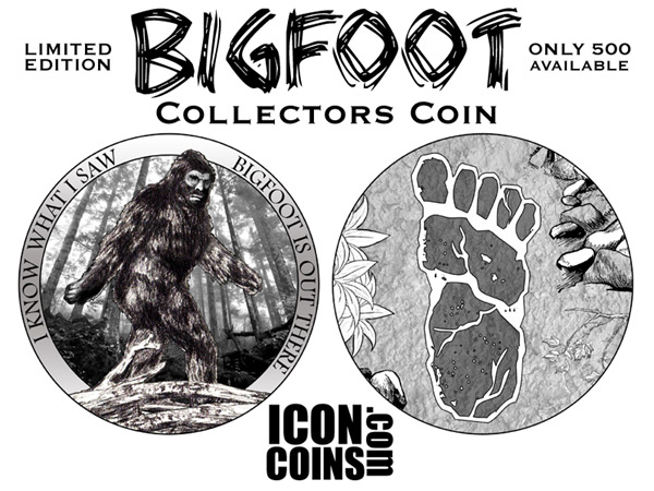 Limited Edition Bigfoot Collectors Coin