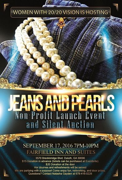Jeans and Pearls Silent Auction