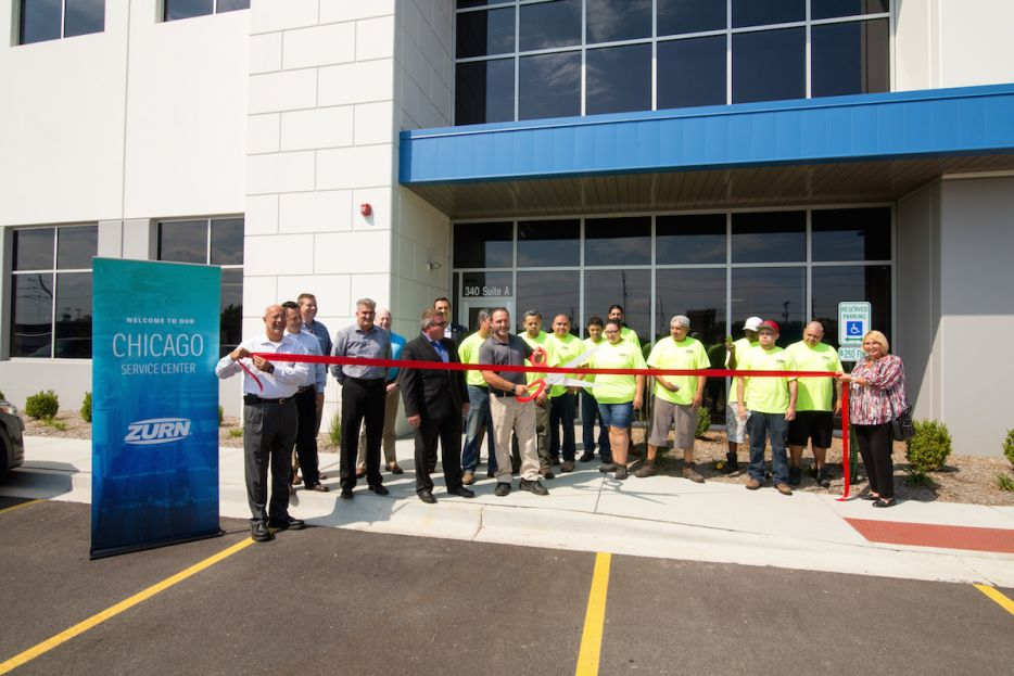 Zurn celebrates opening of its new Chicago-area service center