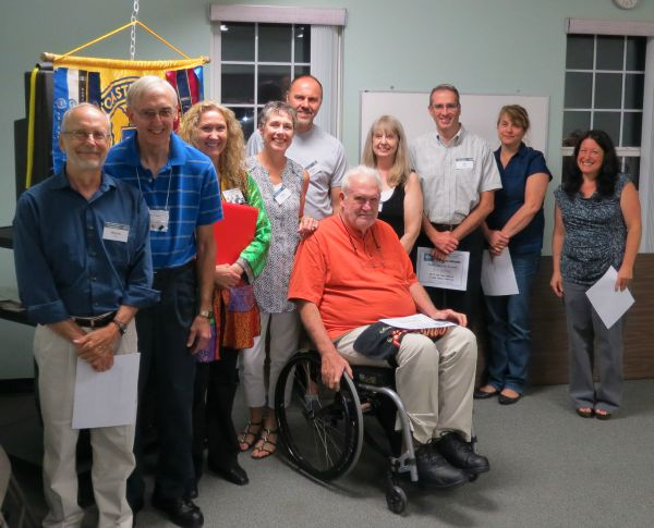 2015 First of Sussex Toastmasters Humorous Speech Participants