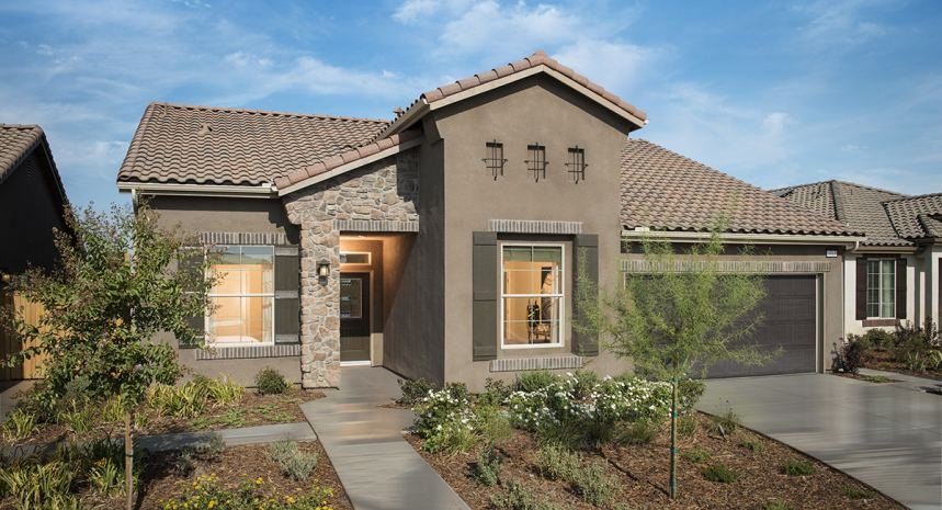 Mountain Gate offers three collections of new homes for sale in a great area.