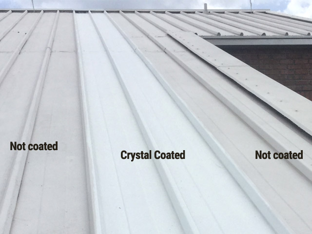 Crystal roof coating helped to keep this Florida school's roof clean.