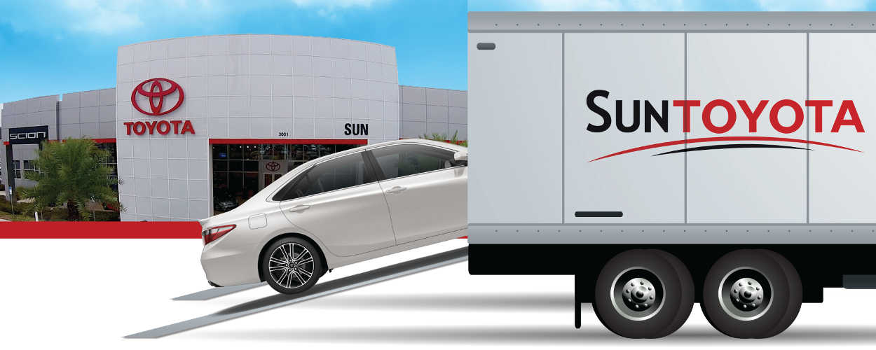 Showroom2Go - We will deliver a car directly to your door!