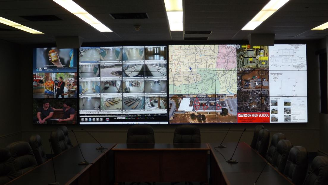Mobile Police Operations Center Features Christie Technology