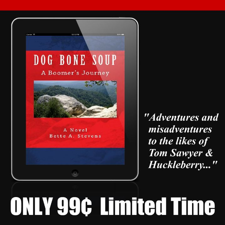DOG BONE SOUP, a remarkable tale of hope and happiness in the face of despair