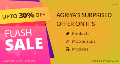 Agriya Discount offer
