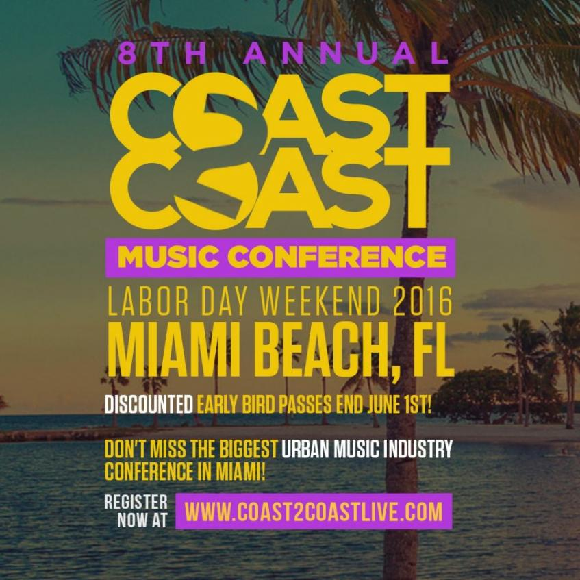 Coast 2 coast music conference miami fl labor day weekend for What to do this weekend in miami